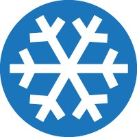 Cold weather icon