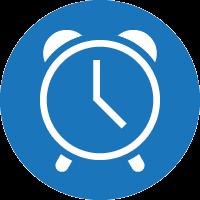 Deadline approaching icon